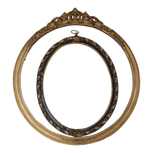 Round Empty Frame