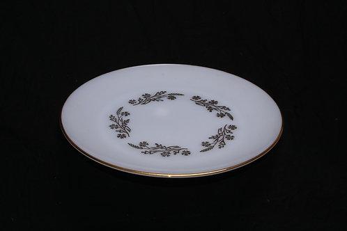 Milk Glass Round Platter
