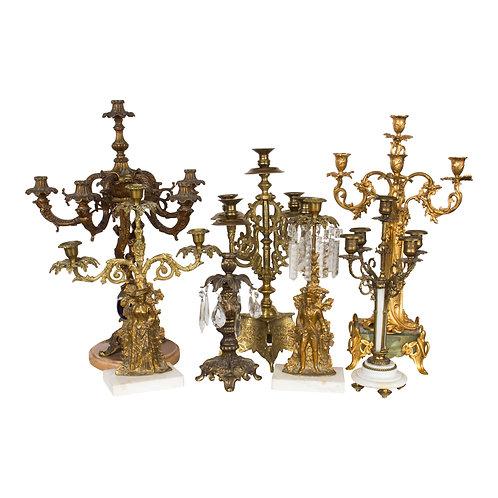 Bohemian Candelabra Collection