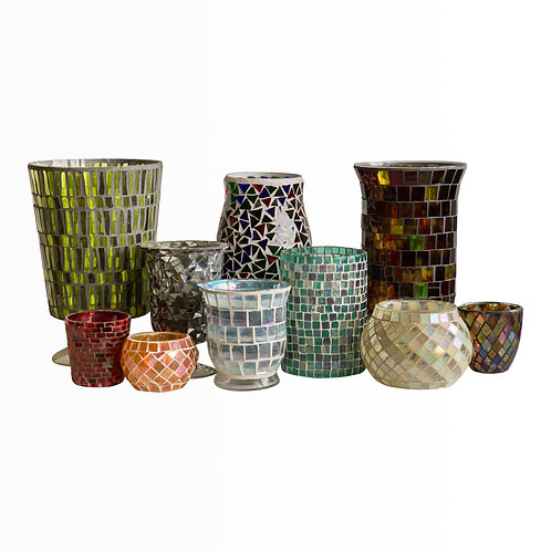 Mosaic Candle Collection