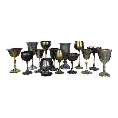 Precious Metals Stemmed Vessel Collection
