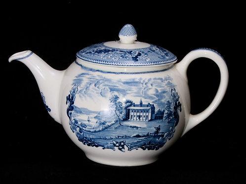Blue/White China Tea/Coffee Pot