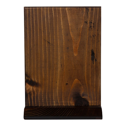 Wood Table Number/Sign