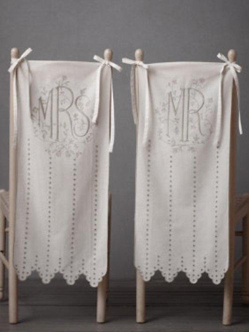 Mr. & Mrs. Chair Banner