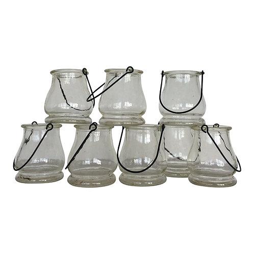 Hanging Candle Jars (Set of 6)