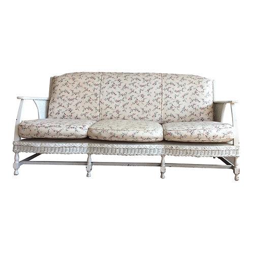 Claire Wicker Sofa