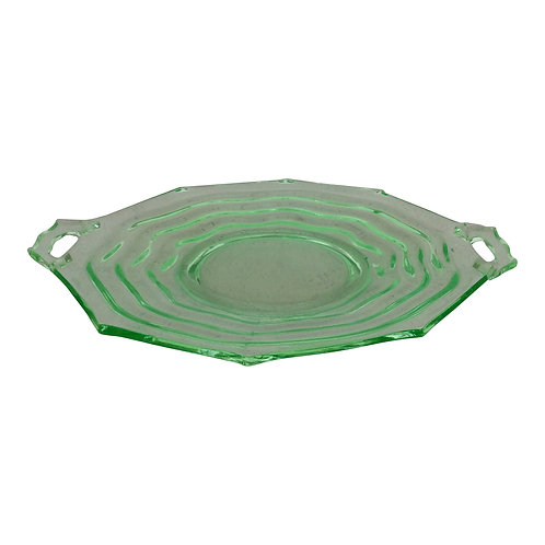 Limeade Round Platter