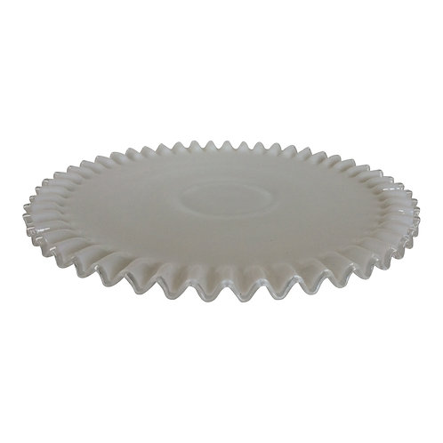 Swan Lake Clear Round Platter