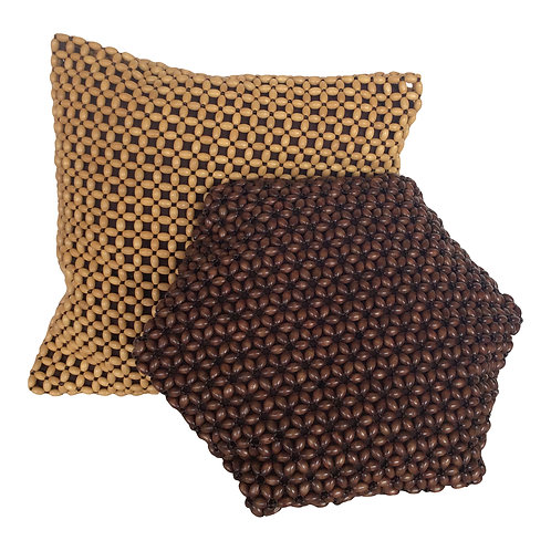 Beaded Pillows (Set of 2)
