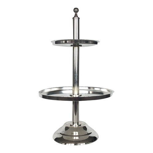 Silver Moon 2-Tiered Stand