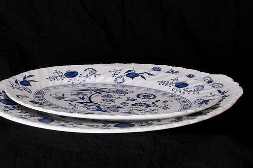 Blue/White China Platter