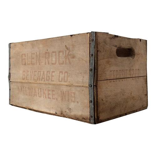 Glen Rock Wood Crate
