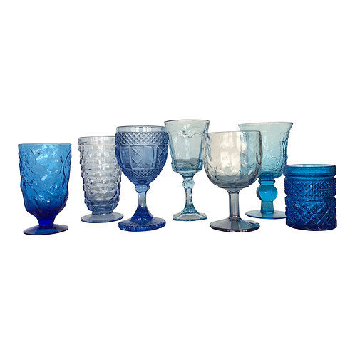 Shades of Blue Goblet