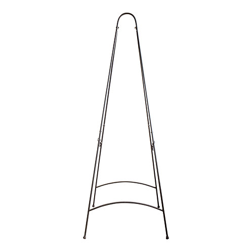 Curved Iron Floor Easel