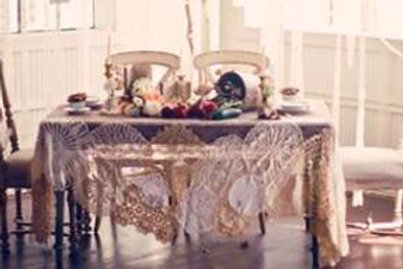 Doily & Lace Tablecloth