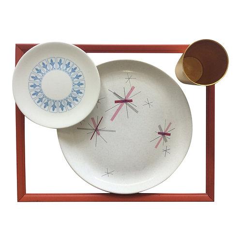 Mid-Century Atomic Dinnerware