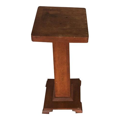 Miller Wood Pedestal