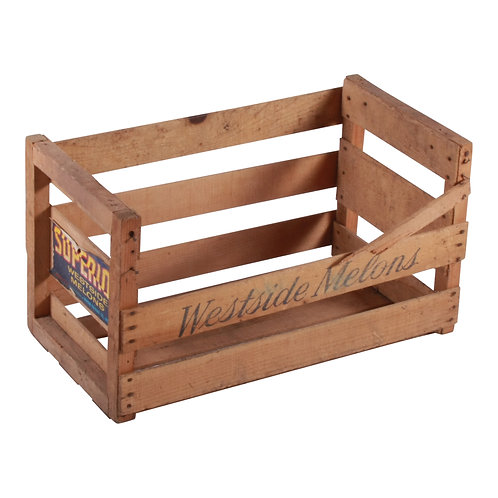 Westside Slatted Crate