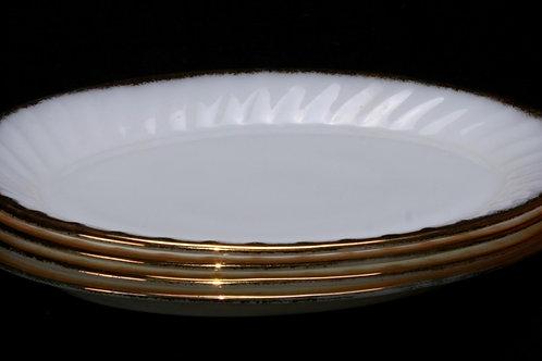 Milk Glass Oval platter