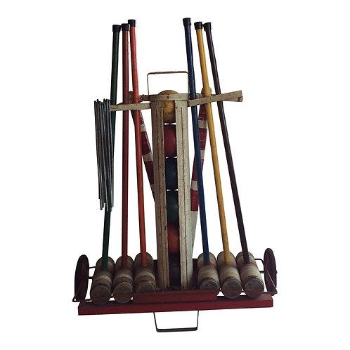 Metal Croquet Set
