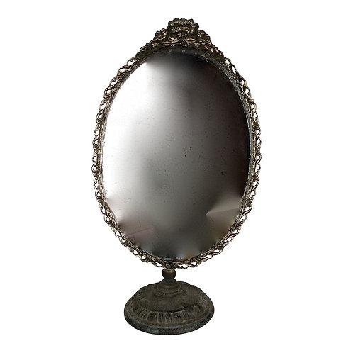 Standing Gold Dresser Mirror