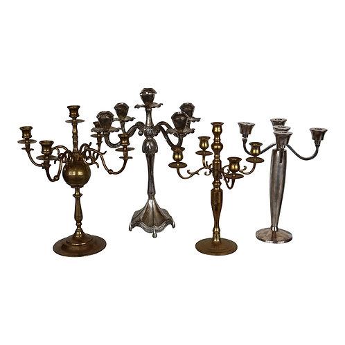 Precious Metals Candelabra Collection