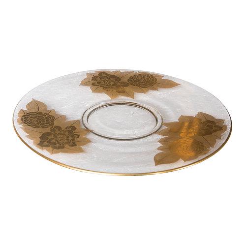 King Midas Round Platter