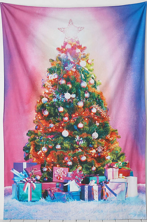 Christmas Tapestree Backdrop