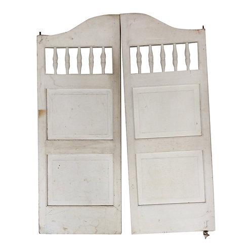 Peeta White Shutter Doors (Set of 2)