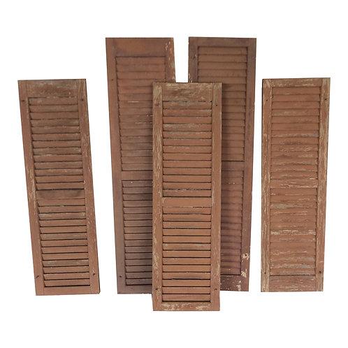 Portia Wood Shutters (Set of 5)