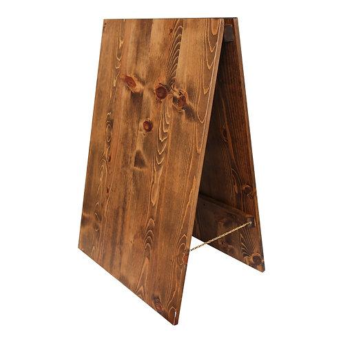 Wood Sandwich Board