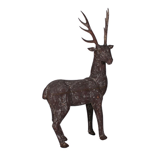 Large Wood Stag