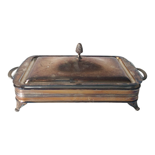 Silver Rectangular Chaffing Dish