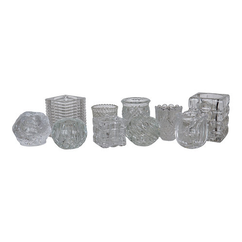 Crystal/Glass Clear Votive (Assorted)