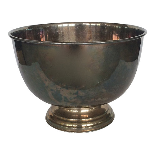 Anthony Silver Punch Bowl