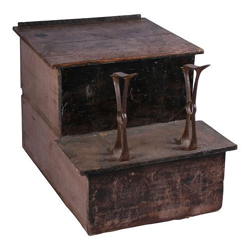 Shoeshine Bench