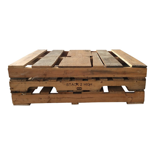 Pieced Pallet Coffee Table