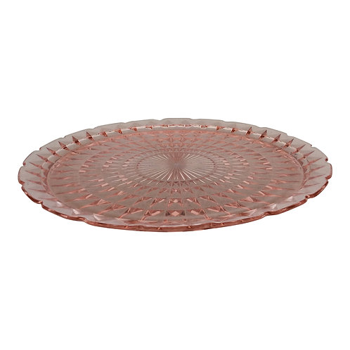 Raspberry Tart Round Platter