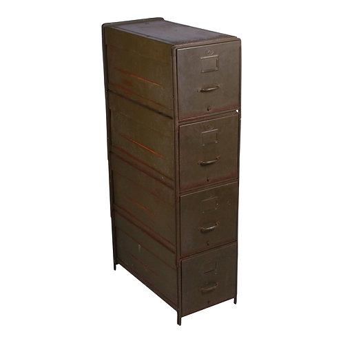 Green Metal Filing Cabinet