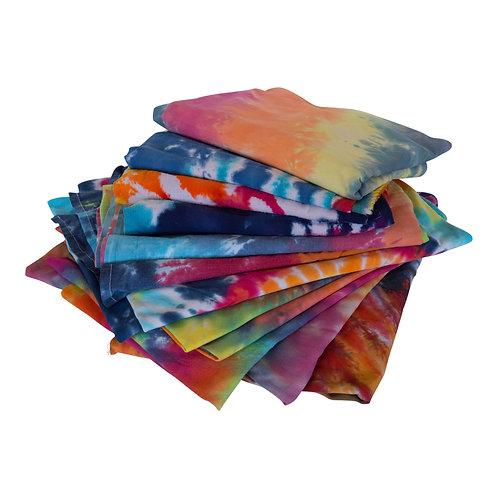 Assorted Tie-Dye Cloth