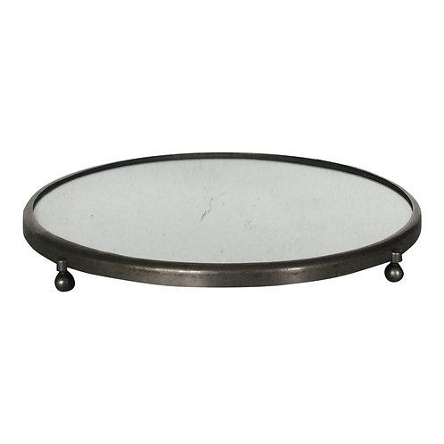Silver Pedestal Mirror - S