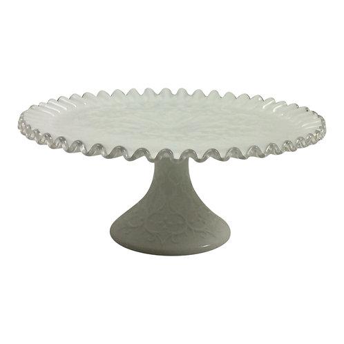 Coconut Fluff Dessert Stand