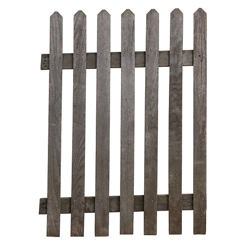 Willis Weathered Fence