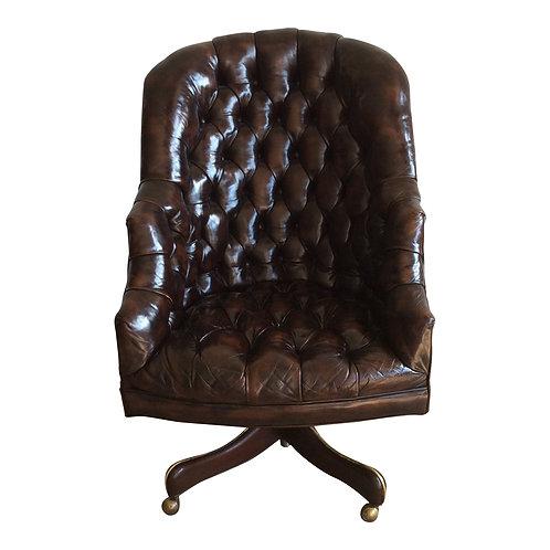 Paxton Leather& Denim Club Chair