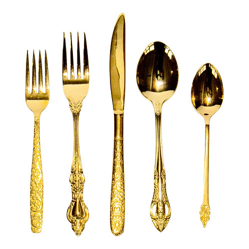 Gold Flatware Collection
