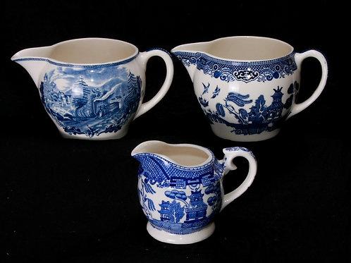 Blue/White China Creamer