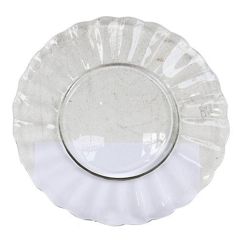 Club Soda Clear Punch Platter