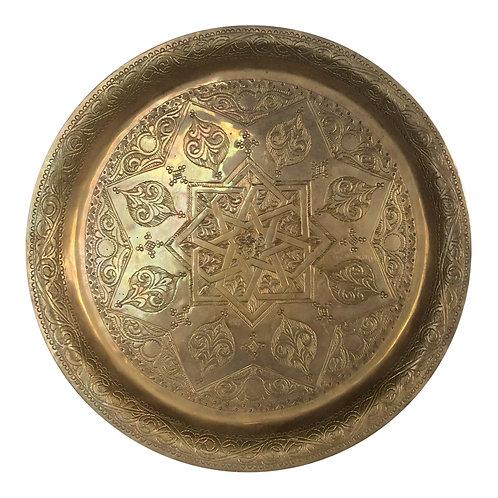 Rajah Brass Tray- S