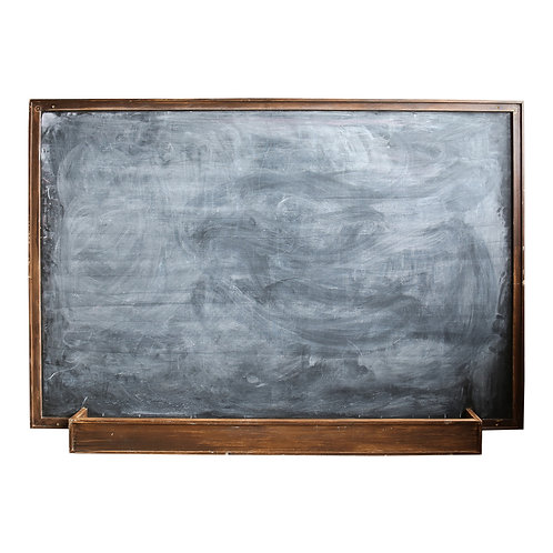 Freestanding 2-Sided Blackboard - XXL