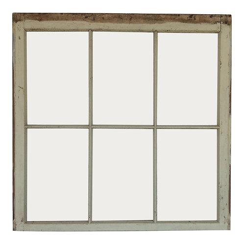 Polly 6-Pane Salvaged Window